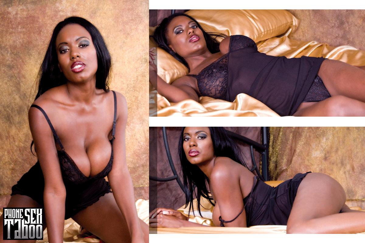 Big Black Tits Phone Sex